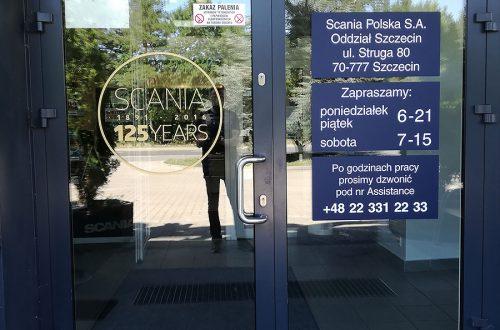 Reklama nawitrynie Szczecin